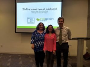 Clean Air Community Forum - Elenor Hodges Jessica Haney Sam Stebbins