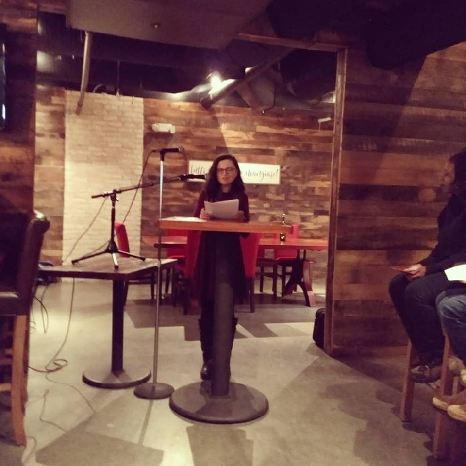 Jessica Claire Haney Readings on the Pike January 2019