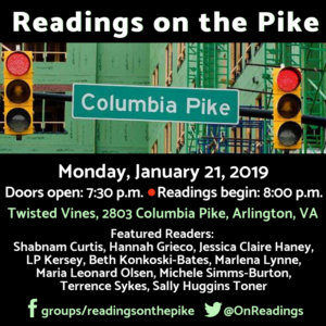 Readings on the Pike January 21 square
